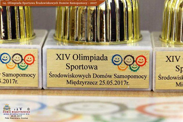 14. OLIMPIADA SPORTOWA ŚRODOWISK DOMÓW SAMOPOMOCY