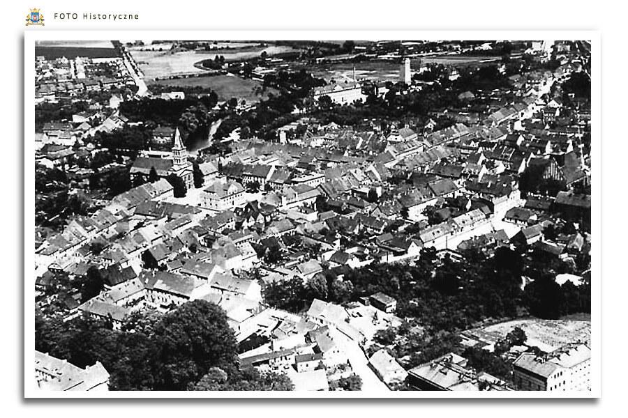 Meseritz - Międzyrzecz - Panorama miasta 1942 rok