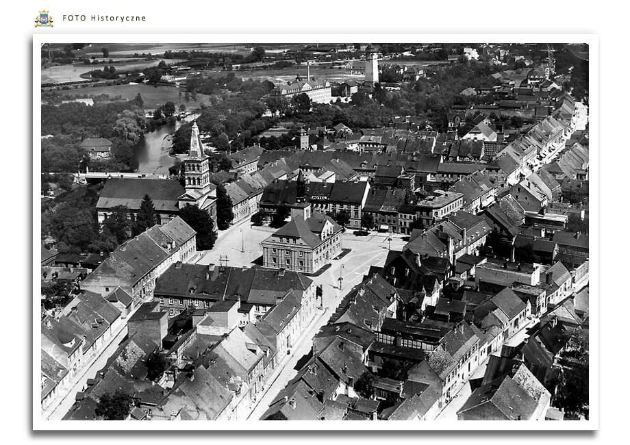 Meseritz - Międzyrzecz - Panorama miasta