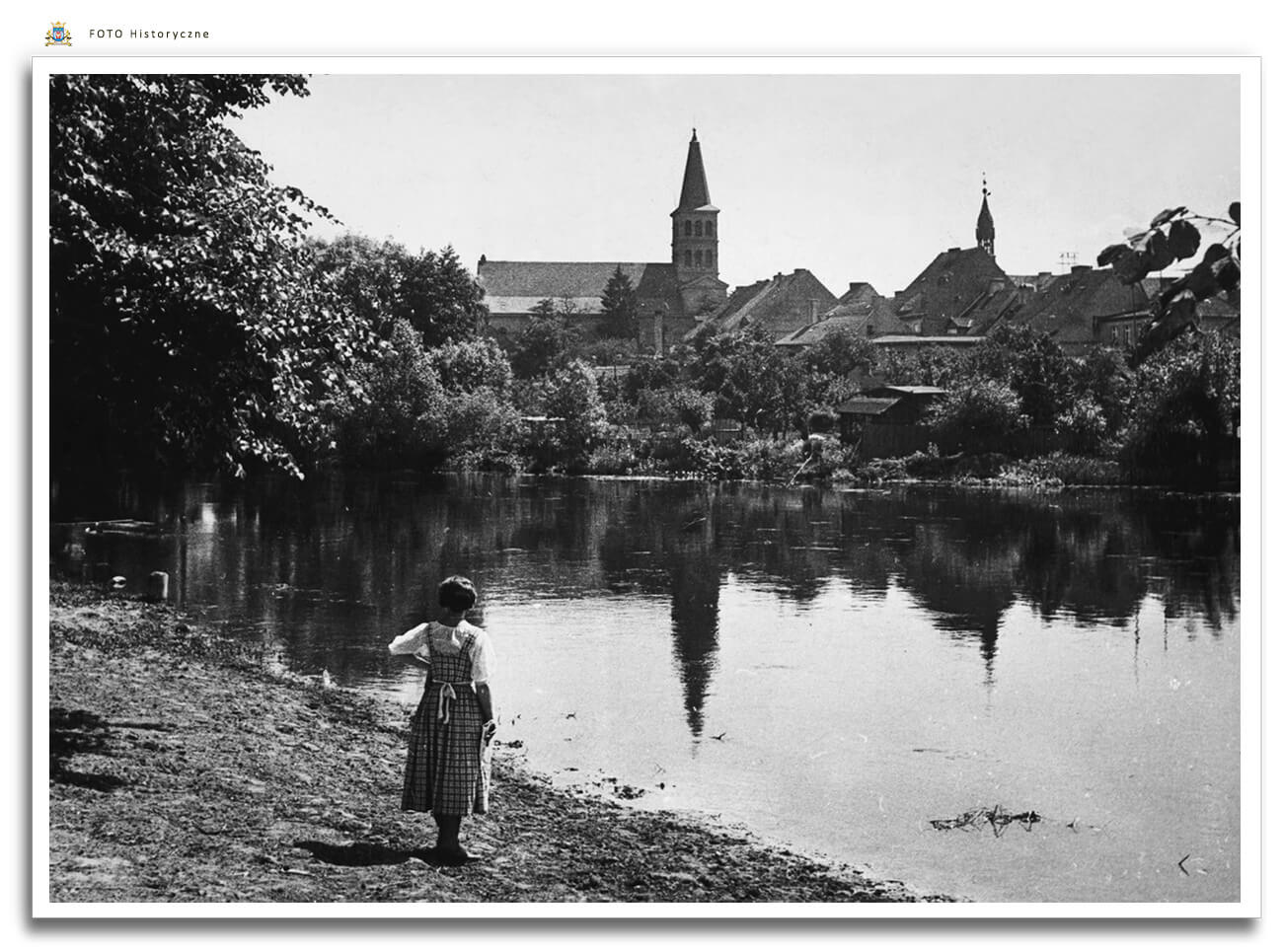 Meseritz - Międzyrzecz - nad Obrą - 1932 rok