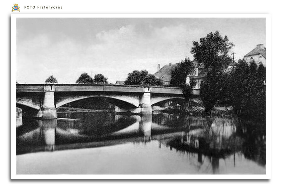 Meseritz - Międzyrzecz - Most drogowy betonowy przez Obrę