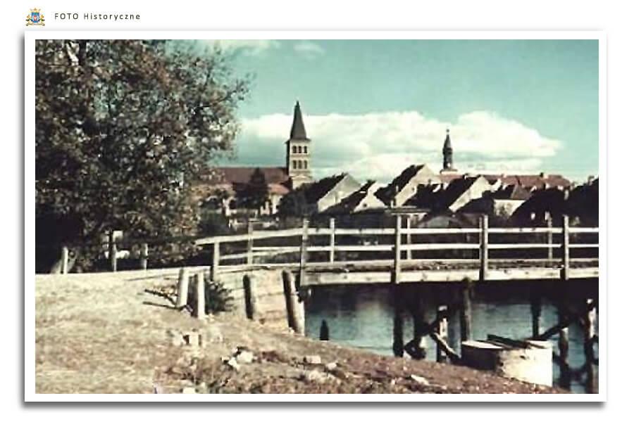 Meseritz - Międzyrzecz - Mostek przez rzekę Obra - dziś nieistniejący