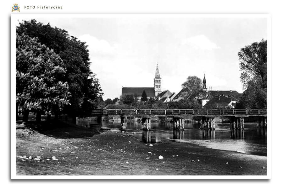 Meseritz - Międzyrzecz - Mostek przez Obrę - dziś nieistniejący
