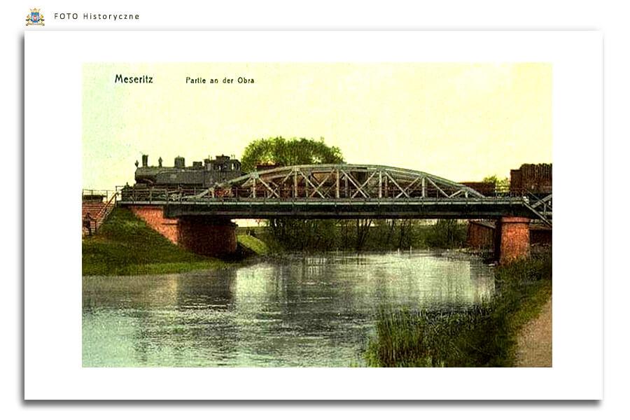 Meseritz - Międzyrzecz - Most Kolejowy 1910 rok