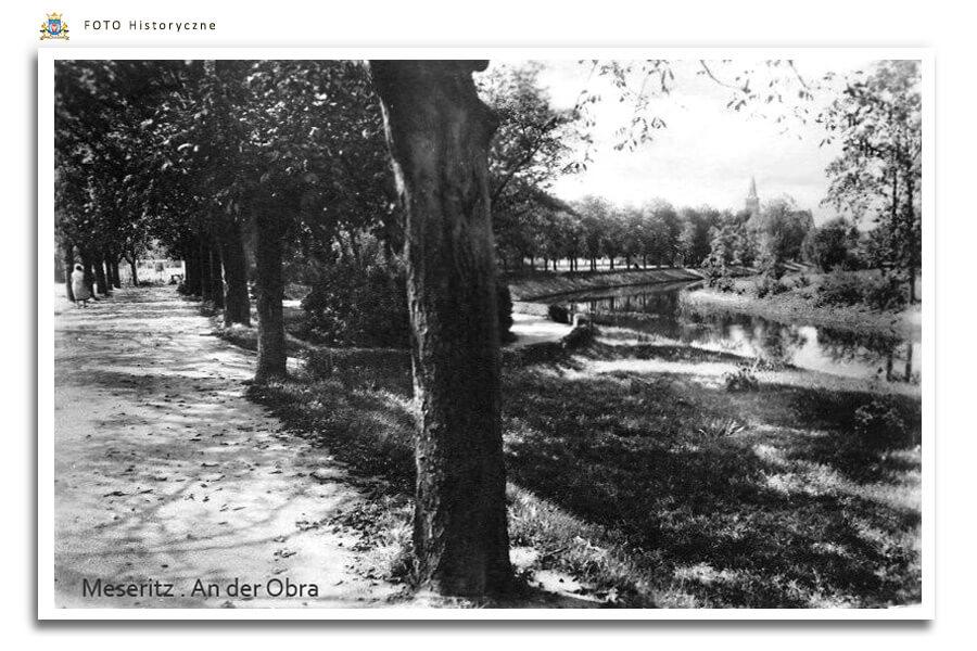 Meseritz - Międzyrzecz - 1938 r. Nad Obrą