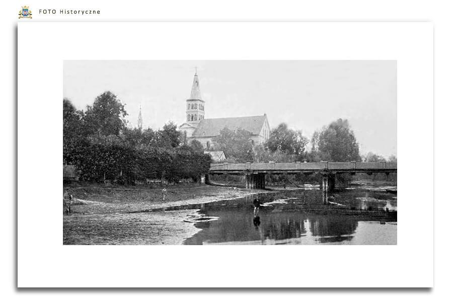 Meseritz - Międzyrzecz - Most przez Obrę - początek XX w.