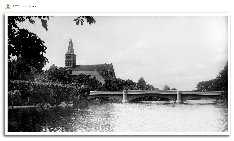 Meseritz - Międzyrzecz - Most przez Obrę ok. 1945 roku