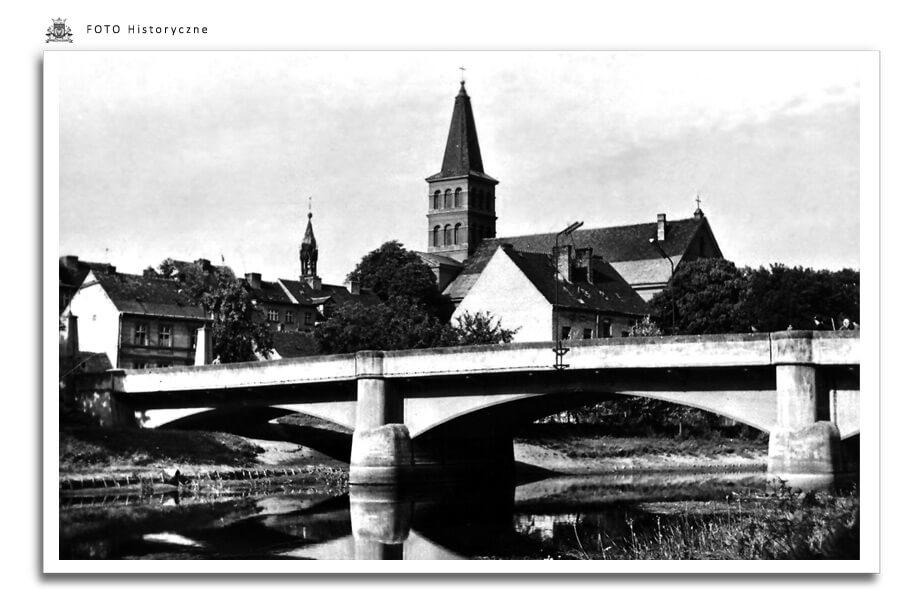 Meseritz - Międzyrzecz - Most przez rzekę Obra - lata 1960 - 1963