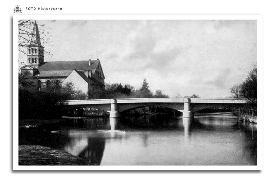 Meseritz - Międzyrzecz - Most przez Obrę ok. 1950 r.