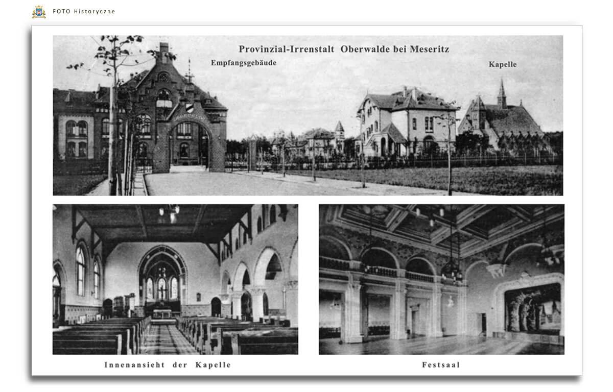 Meseritz - Międzyrzecz - Obrawalde - Obrzyce