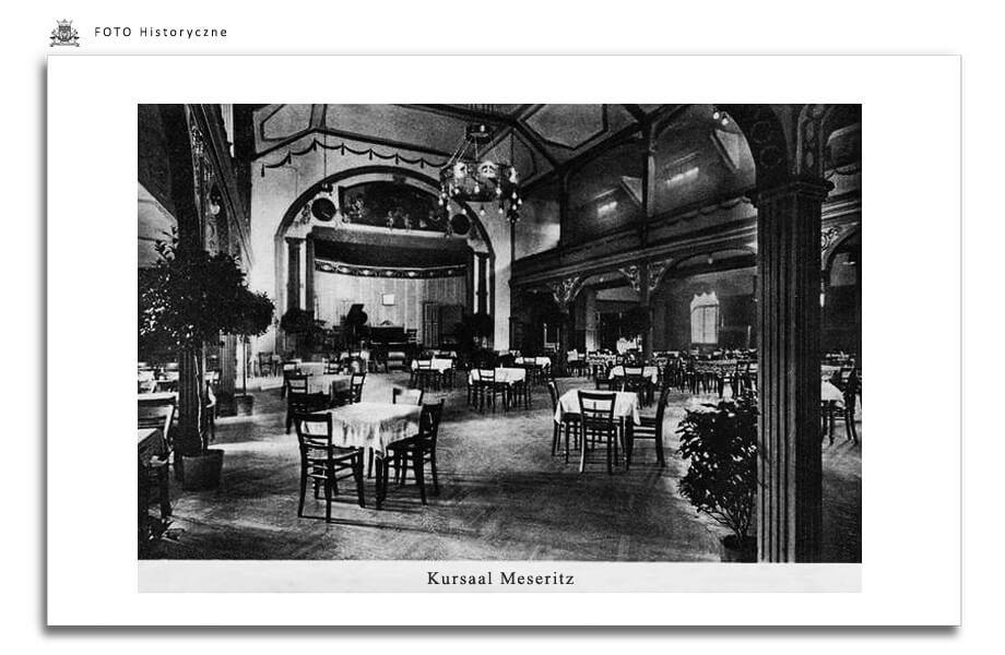 Meseritz - Międzyrzecz - Meseritz - Sala w jednej z Restauracji.  Foto podpisane jest  Meseritz, jednak rację mają wszyscy, którzy twierdzą że to w Obrzycach
