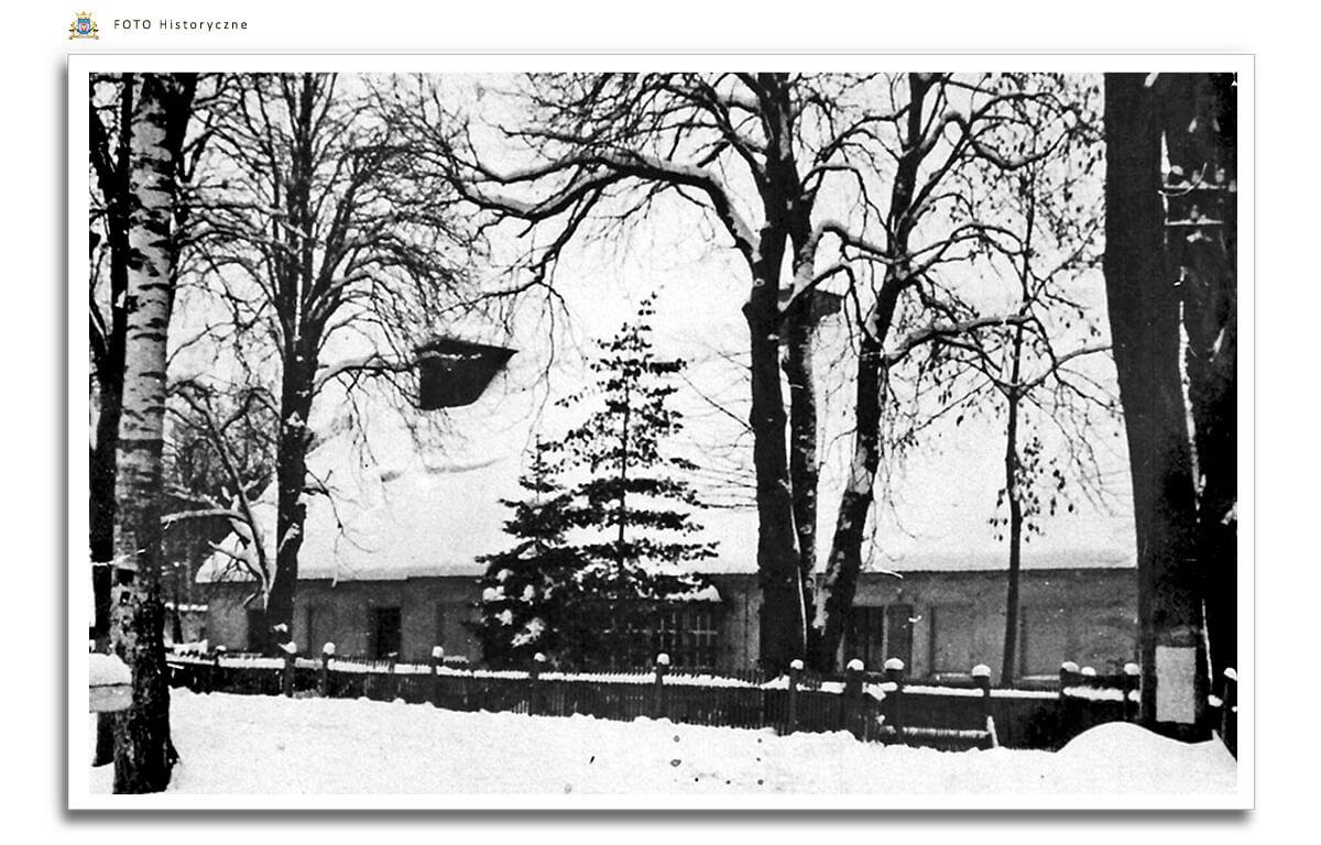 Młyn w Skokach -  Heidemuhle,  ok. 1930 roku.