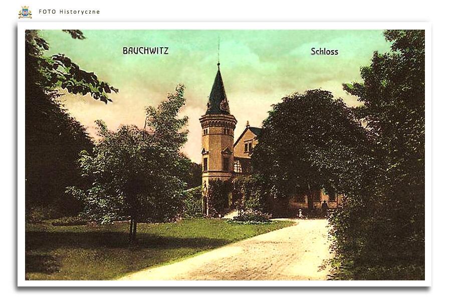 Bauchwitz Schloss Pałac w Bukowcu - 1912 rok