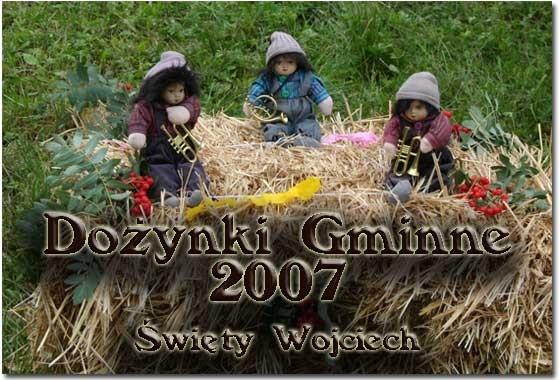 Dożynki Gminne Święty Wojciech 2007