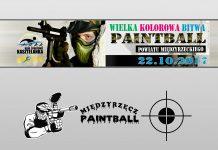 Wielka, Kolorowa Bitwa Paintball Powiatu Międzyrzeckiego