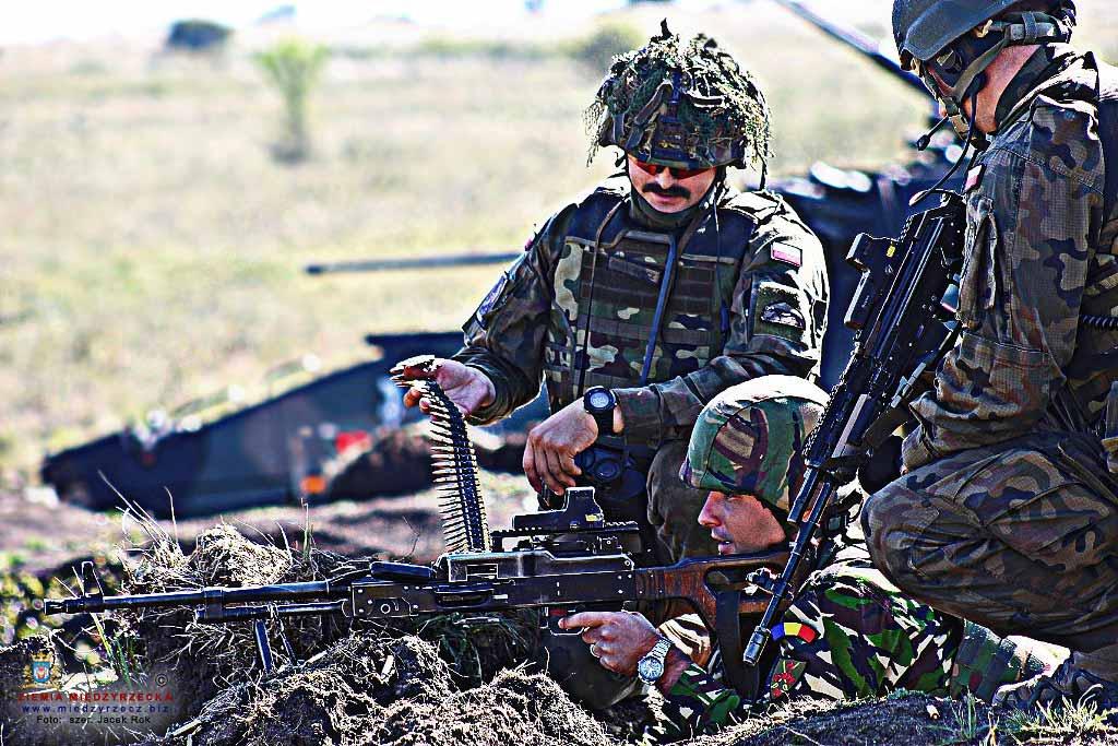 Żołnierze PKW w Rumunii zakończyli kolejny etap szkolenia