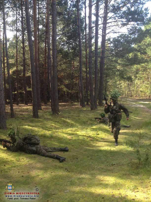 Szkolenie żołnierzy Narodowych Sił Rezerwowych w kompanii rozpoznawczej