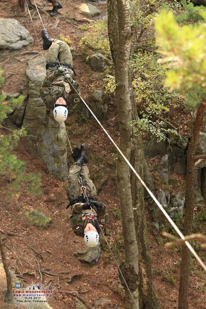 Szkolenie górskie zwiadowców