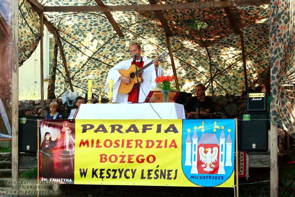 Festyn w Kęszycy Leśnej - 2010 rok