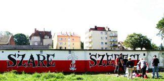 Mural - Szare Szeregi w Międzyrzeczu