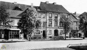 Międzyrzecz - Rynek, przed II wojną światową