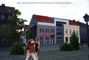 Międzyrzecz - projekt centrum handlowego