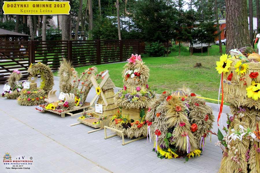 Dożynki Gminne Kęszyca Leśna 2017