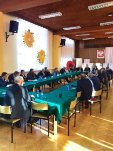 Spotkanie robocze Zarządu Województwa Lubuskiego