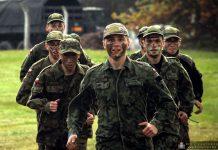 Szkolenie klas mundurowych w Międzyrzeczu