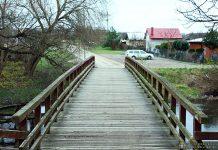 Remont mostu w Świętym Wojciechu