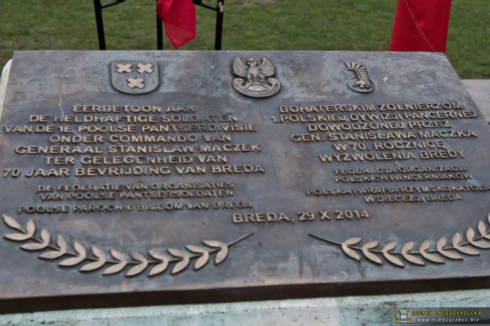 Obchody wyzwolenia Bredy przez pancerniaków 1. Polskiej Dywizji Pancernej
