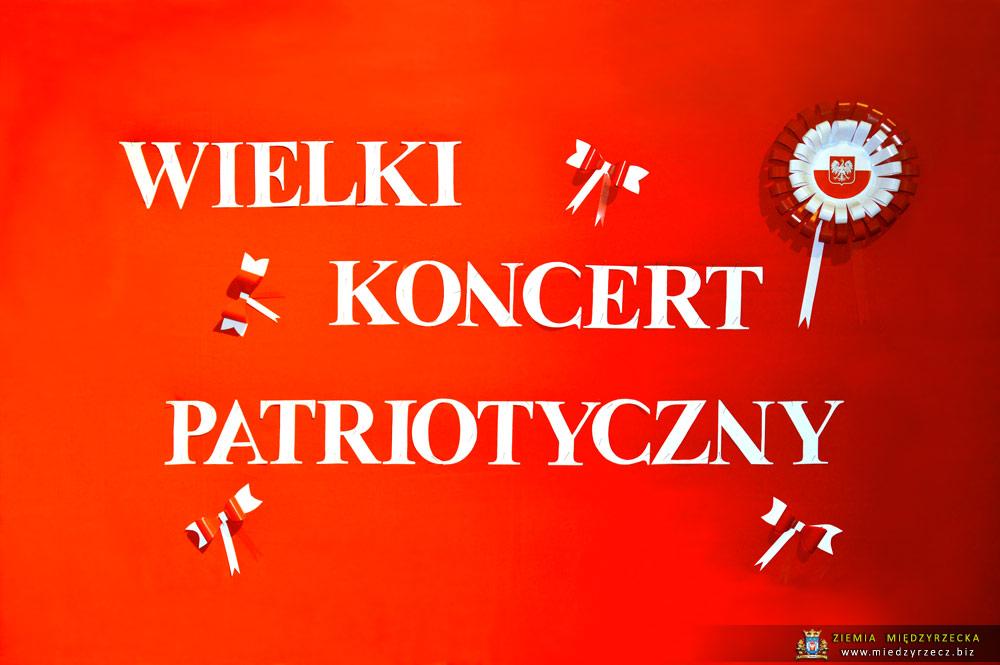 Międzyrzecz Wielki Koncert Pieśni Patriotycznej Foto