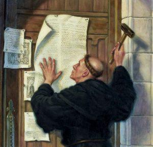 Marcin Luter w Wittenberdze