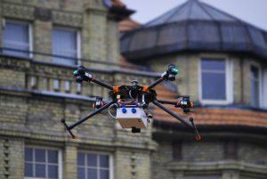 Mobilna platforma monitoringu wybranych parametrów niskiej emisji z wykorzystaniem dronów
