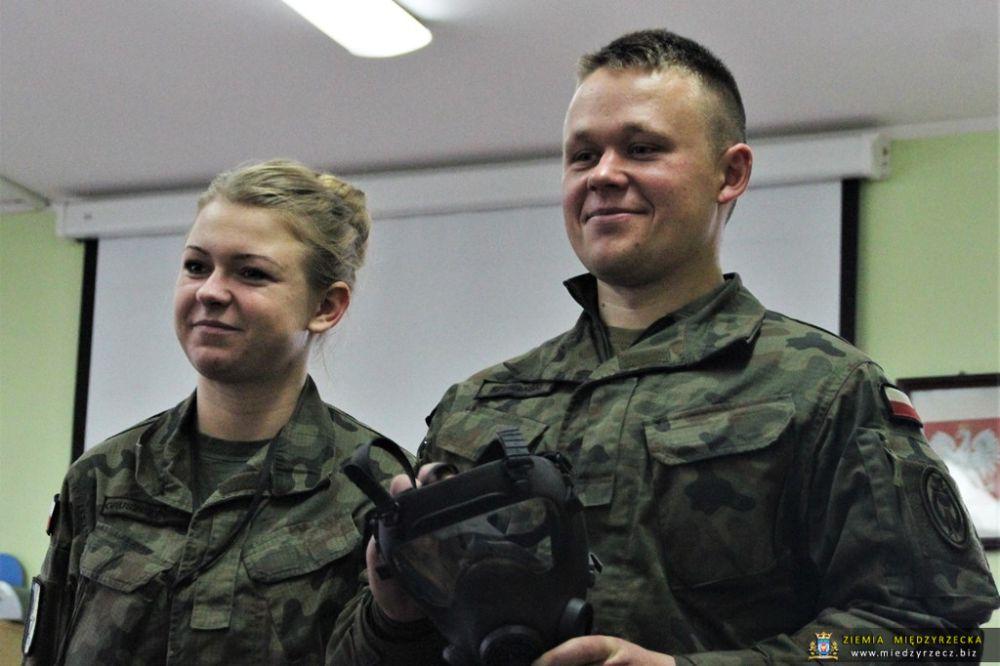 Żołnierze w przedszkolu
