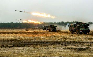 Ćwiczenie taktyczne z wojskami BORSUK-17