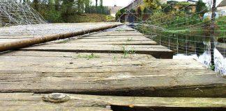 Międzyrzecz: Most na Obrze w Świętym Wojciechu