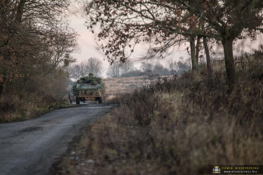 Międzyrzecz: Ćwiczenie taktyczne z wojskami pk. Borsuk-17  (przemieszczenie)