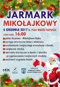 Jarmark Bożonarodzeniowy 2017 - Plakat