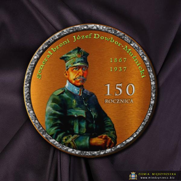generał broni Józef Dowbor Muśnicki - medal