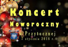 Koncert Noworoczny w Przytocznej - baner