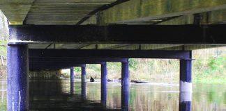 : Remont mostu na Obrze w Świętym Wojciechu – stan na dzień 02.12.2017 r.