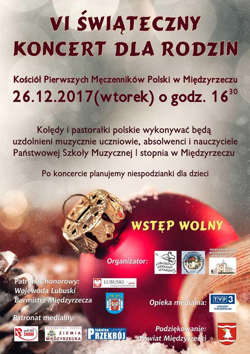: VI Świąteczny Koncert dla Rodzin