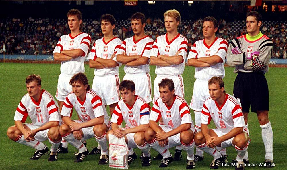 Reprezentacja Polski - Barcelona 92