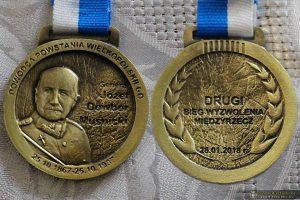 Medal Pamiątkowy II Biegu Wyzwolenia