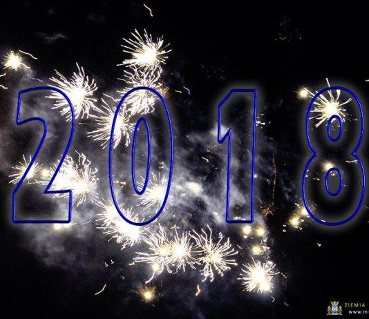 Powitanie Nowego 2018 Roku w Międzyrzeczu