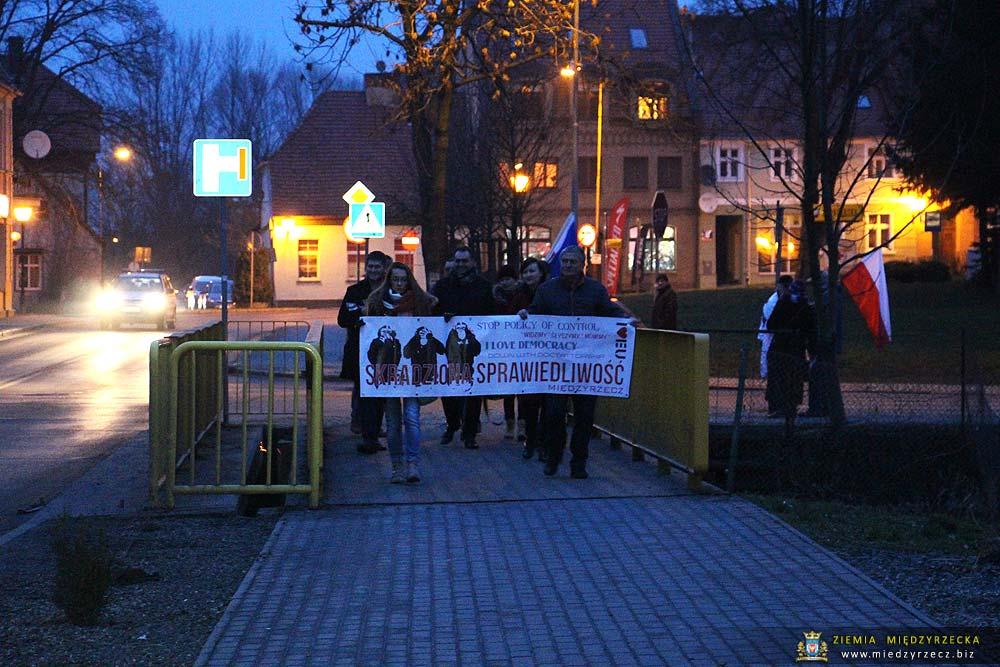 Marsz dla Demokracji w Międzyrzeczu