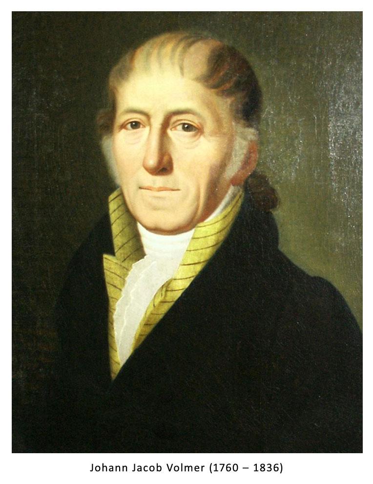 JOHANN JACOB VOLMER