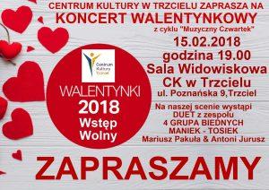 Koncert walentynkowy w Trzcielu