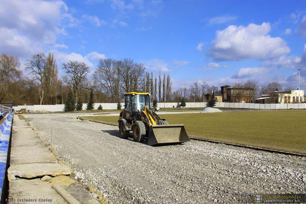 Remont i modernizacja Miejskiego Stadionu - stan prac na 25.02.2018
